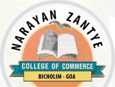 Narayan Zantye College - logo
